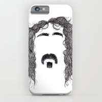 iPhone & iPod Case featuring Frank Zappa by Sára Szabó