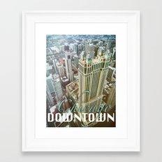 Downtown Chicago Framed Art Print