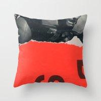 Offense Throw Pillow
