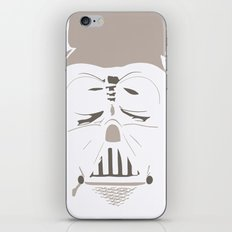 Ghost Darth Vader iPhone & iPod Skin
