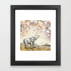 Bubble Dreams Framed Art Print