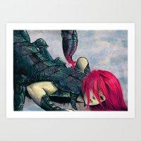 Zodiac Sign: Scorpio Art Print