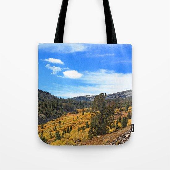 Mt Rose Tote Bag