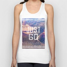 JUST GO Unisex Tank Top
