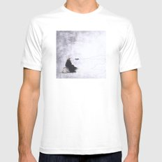 Reflections Mens Fitted Tee SMALL White