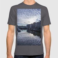 Amsterdam Canal Mens Fitted Tee Asphalt SMALL