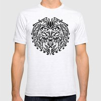 Leo Mens Fitted Tee Ash Grey SMALL