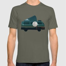 VW Camper Mens Fitted Tee Lieutenant SMALL