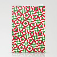 Christmas Stars Stationery Cards