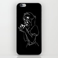 Snow Vader iPhone & iPod Skin