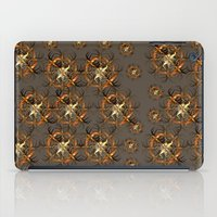 Mechanical Brown Forest iPad Case