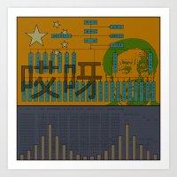 Huawei Art Print