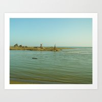 Navaro Beach VI Art Print