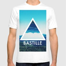 BASTILLE Mens Fitted Tee White SMALL