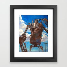 The Iron Man Framed Art Print