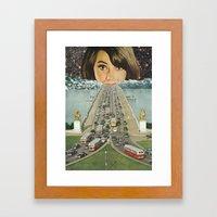 Traffic School Framed Art Print