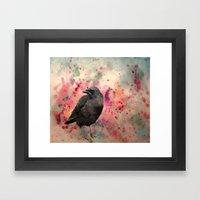 In Colors Framed Art Print