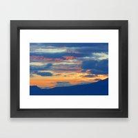Sunrise September 12 2011 Framed Art Print