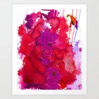 Oahu Red Art Print