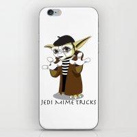 Jedi Mime Tricks iPhone & iPod Skin