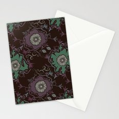 Branches pattern Stationery Cards