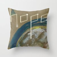 {Hope}  don't far away Throw Pillow