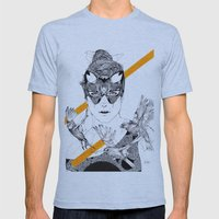 The Hunt Mens Fitted Tee Athletic Blue SMALL