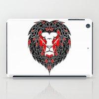 Black Lion iPad Case