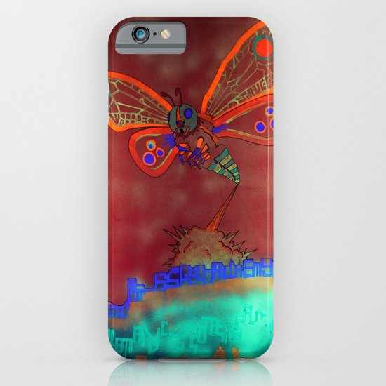 Bad Ash Mothra Funker Full (Wobblesauce) iPhone & iPod Case