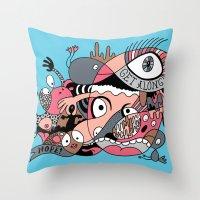 Get Along Throw Pillow