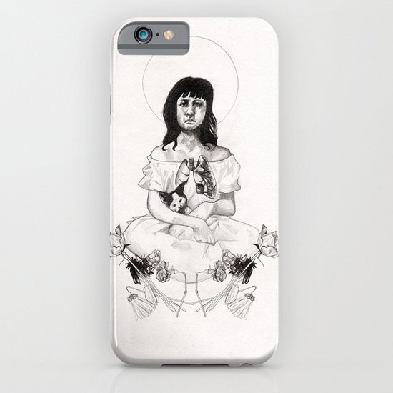 The Girl With Half a Lung iPhone & iPod Case