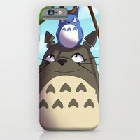 iPhone & iPod Case featuring Totoro by DyaniArt