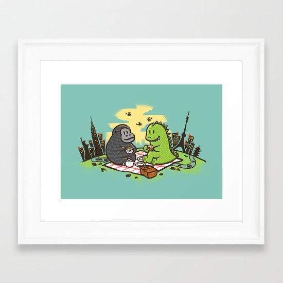 Let's have a break Framed Art Print