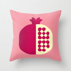 Fruit: Pomegranate Throw Pillow