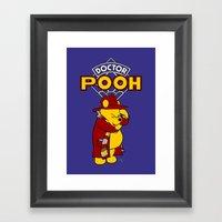 Doctor Pooh Framed Art Print