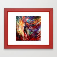 free your...something Framed Art Print