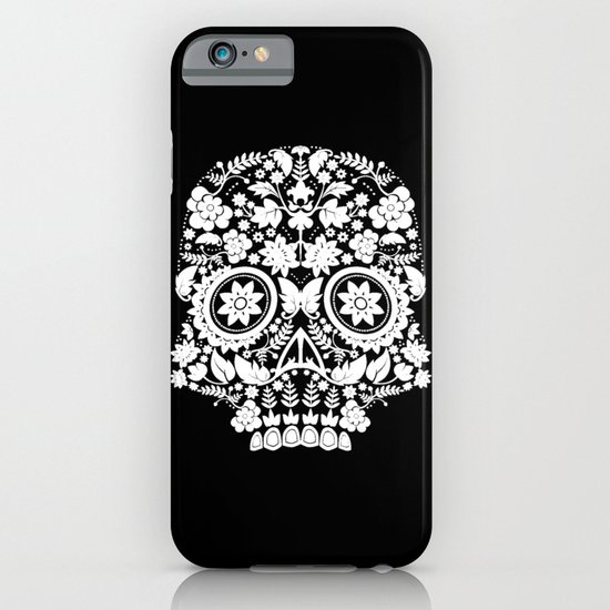 Original Day Of The Dead Skull iPhone & iPod Case