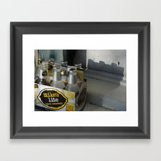 o the shame... Framed Art Print