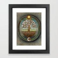 Ouroboros Framed Art Print