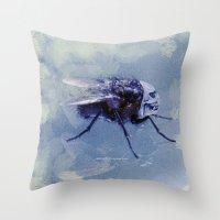 SATAN BUG 005 Throw Pillow