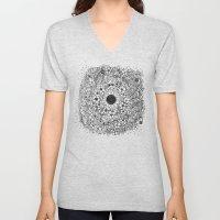 Flower circle Unisex V-Neck
