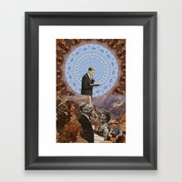 Canyons Framed Art Print