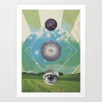UNIVERSOS PARALELOS 006 Art Print