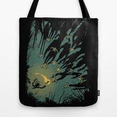 Zombie Shadows Tote Bag