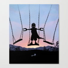 Magneto Kid Canvas Print