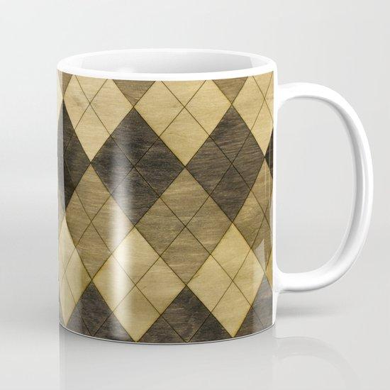Wooden big diamond Mug