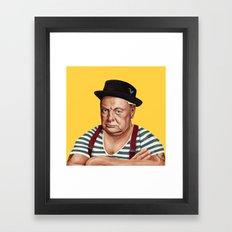Hipstory -  Winston Chur… Framed Art Print