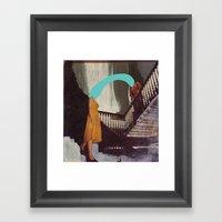 RIPTIDE Framed Art Print