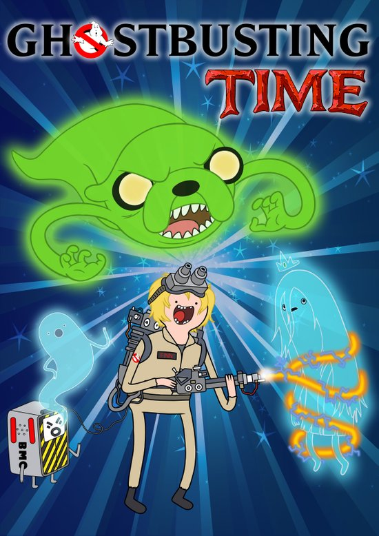 Ghostbusting Time Art Print