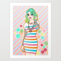 Just Can't Get Enough Art Print